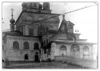 1930-е годы. Музей в Троицком соборе.