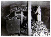 Макет шахты.