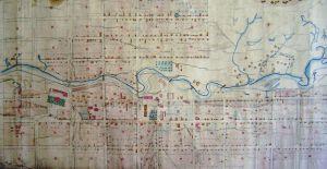 План Соликамска 1863 г.