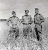 Москалев В.С. (справа). 1943 г.