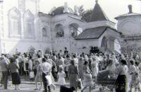 Концерт в 9 Пятницу. Фото В.А. Савинова. 1991 г.