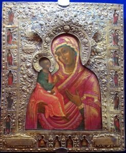 Икона Богоматерь Царегородская в окладе