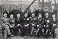 Ветераны Уральского добровольческого танкового корпуса. 1950 г.