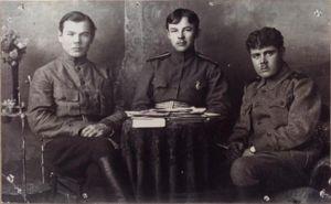 Члены колчаковской комендатуры, 1919 год.