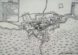 План Соликамска 1770 г.