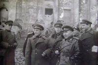 Кузнецов В.И. в Берлине. 1945 г.