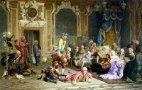 В.И. Якоби. Шуты при дворе Анны Иоанновны. 1872. Третьяковская галерея